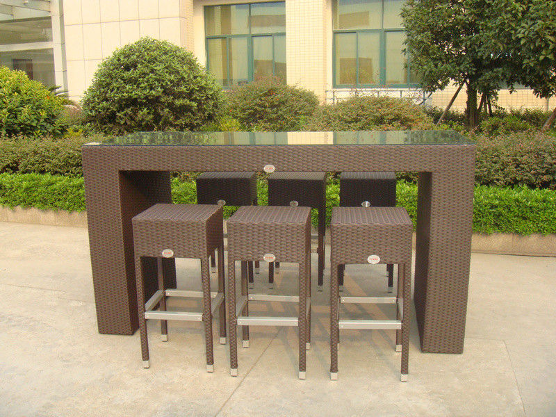 resin outdoor bar sets photo - 1