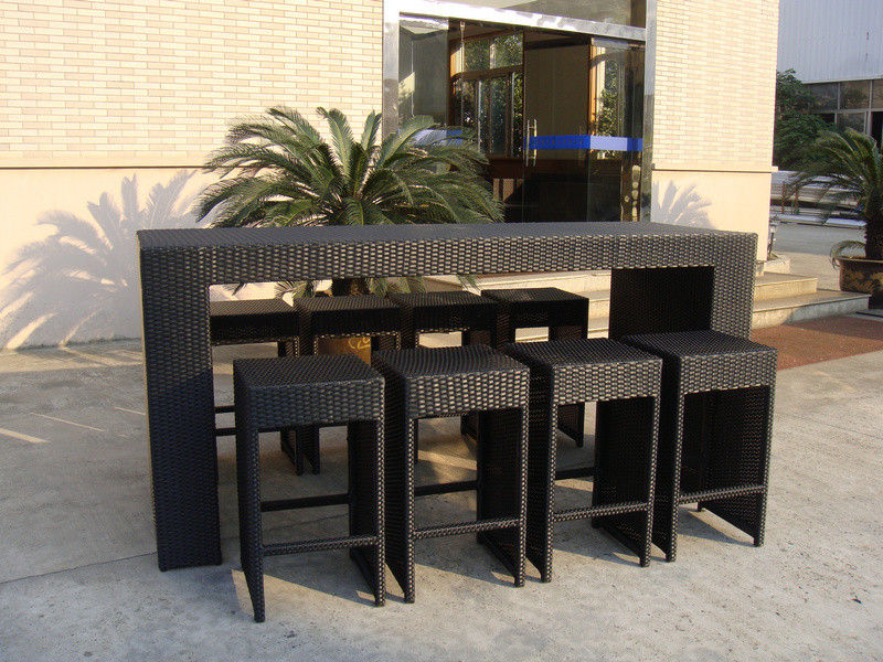 resin outdoor bar sets photo - 4