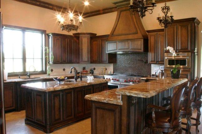 restaining kitchen cabinets gel stain photo - 5