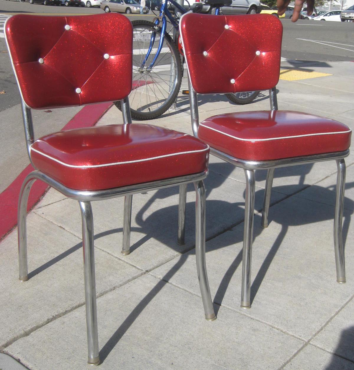 retro kitchen chairs photo - 3