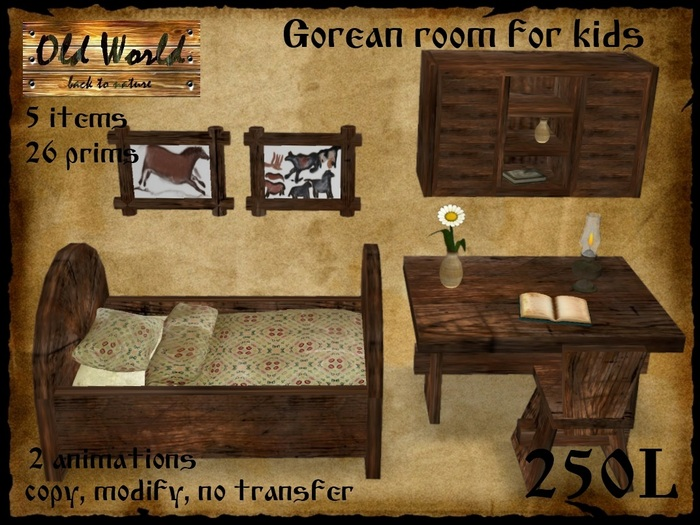 rustic bedroom furniture for kids photo - 2