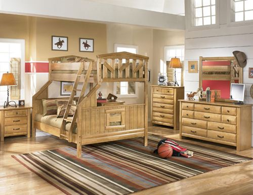 rustic bedroom furniture for kids photo - 3
