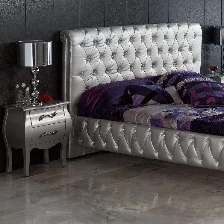 silver bedroom furniture sets photo - 5