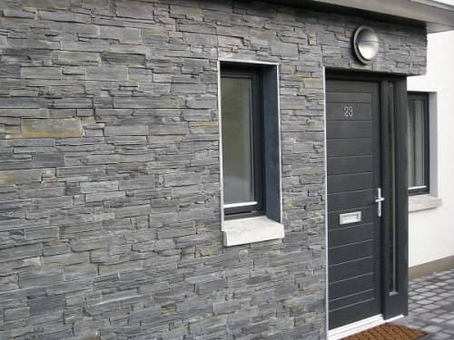 slate tiles for outside walls photo - 1