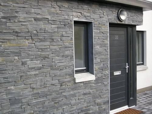 slate tiles for outside walls photo - 1