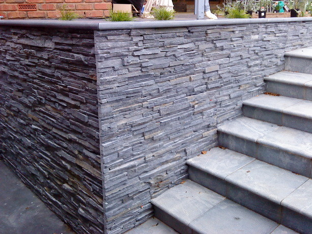 slate tiles for outside walls photo - 2