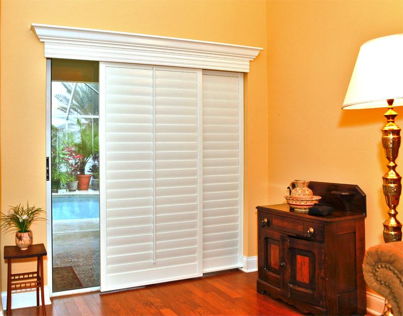 sliding glass door blinds ideas photo - 3