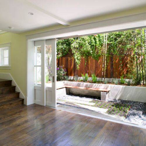 sliding pocket doors exterior photo - 1