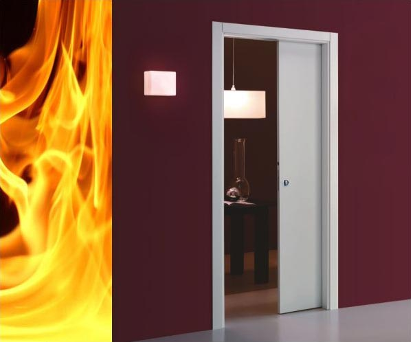 sliding pocket doors fire rated photo - 2