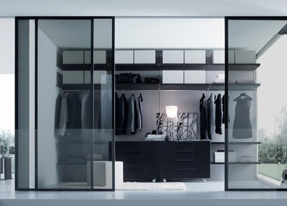 small walk in closet design layout photo - 6
