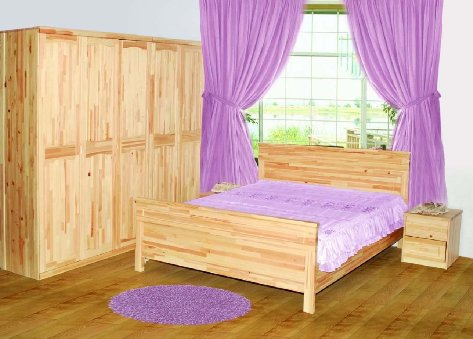 solid wood bedroom furniture for kids photo - 1