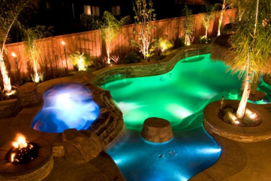 swimming pool backyard ideas photo - 4