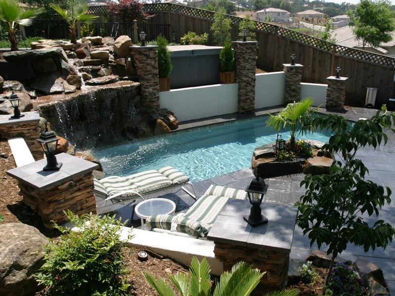 swimming pool backyard ideas photo - 5