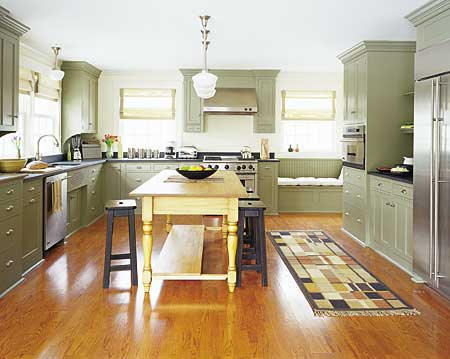 this old house u shaped kitchen photo - 3