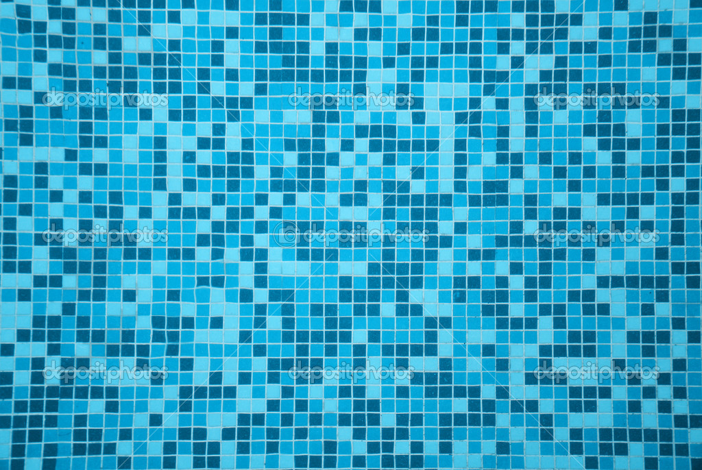 vintage swimming pool tile photo - 2