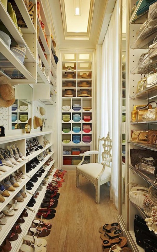walk in closet decorating ideas photo - 2