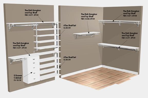 walk in closet design ideas diy photo - 6