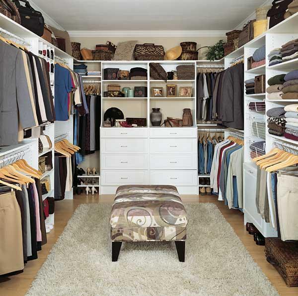walk in closet design plans photo - 1