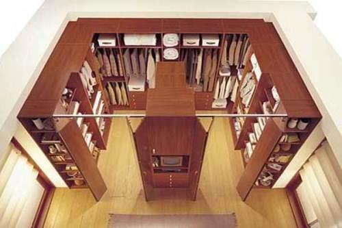 walk in closet dimensions small photo - 1