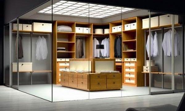 walk in closet dimensions small photo - 4