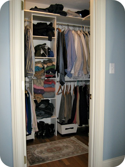 walk in closet dimensions small photo - 6
