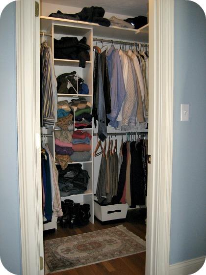walk in closet dimensions small photo - 6