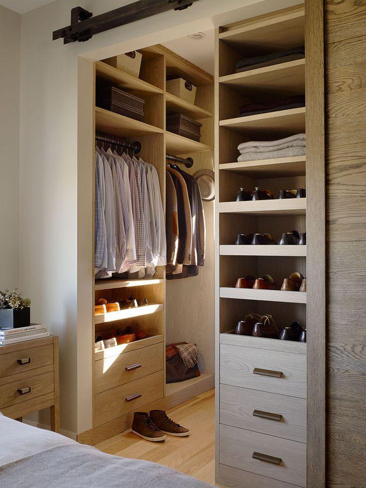 walk in closet door ideas photo - 1