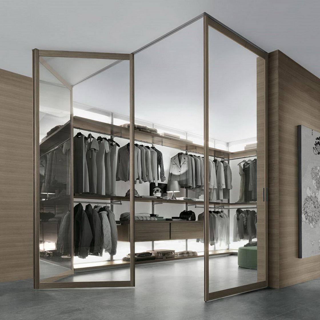 walk in closet door ideas photo - 3