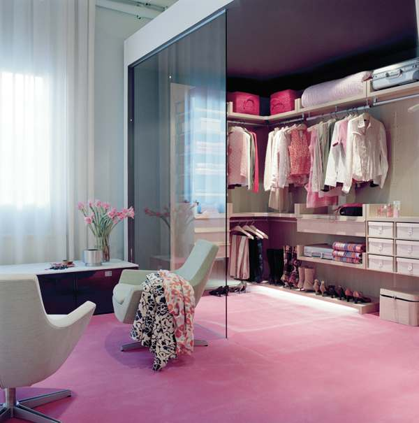 walk-in closet ideas for girls photo - 2