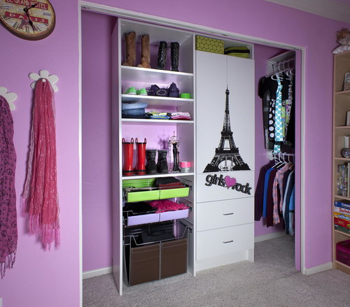 walk-in closet ideas for girls photo - 6