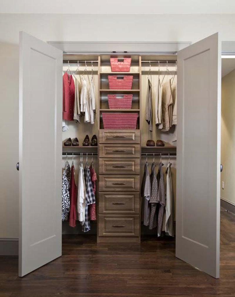 walk in closet small bedroom photo - 1