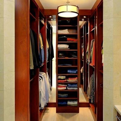 walk in closet small bedroom photo - 4