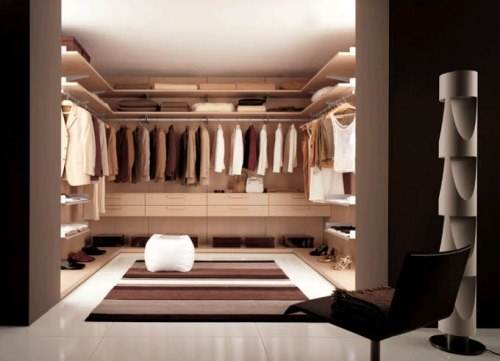walk in closet small bedroom photo - 5