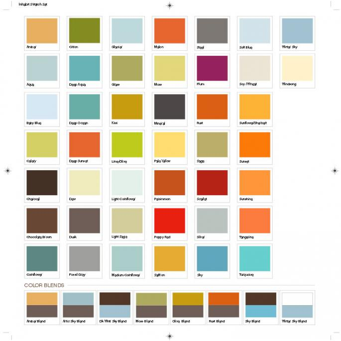 wall colour shade cards photo - 1