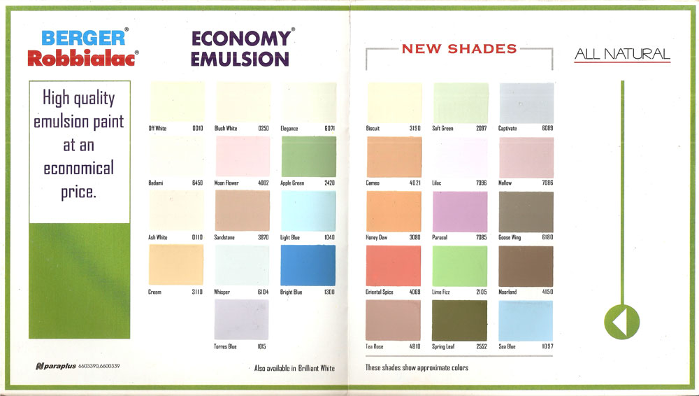 wall colour shade cards photo - 6