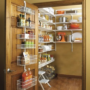 wall mounted pantry shelves photo - 4