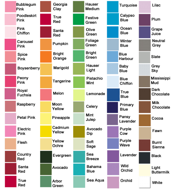 wall paint colours names photo - 1