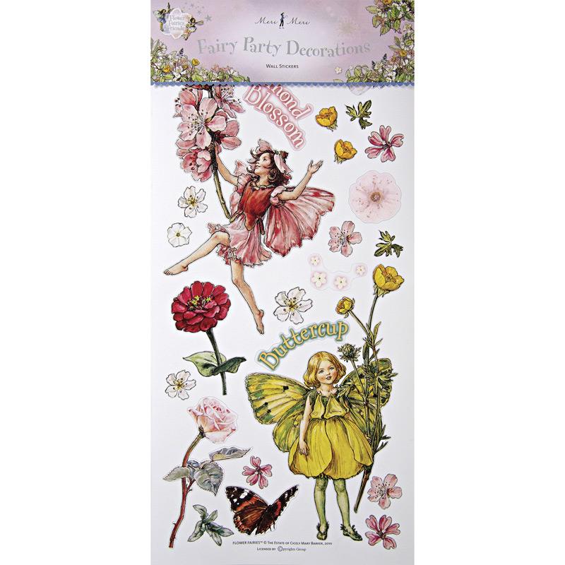 wall stickers flower fairies photo - 1