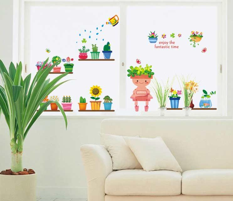 wall stickers flowers kids photo - 6