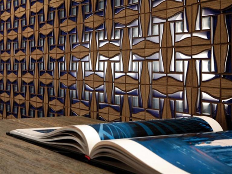 wall tiles design for hall photo - 3