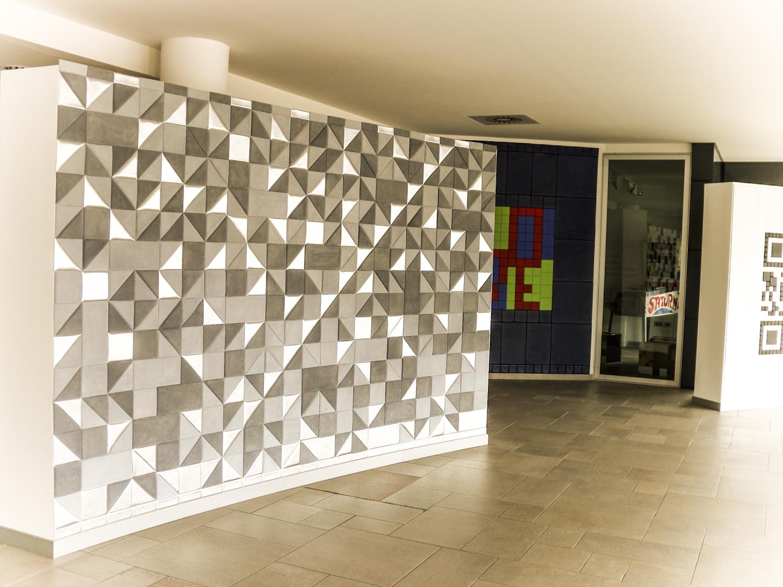 wall tiles design for hall photo - 5