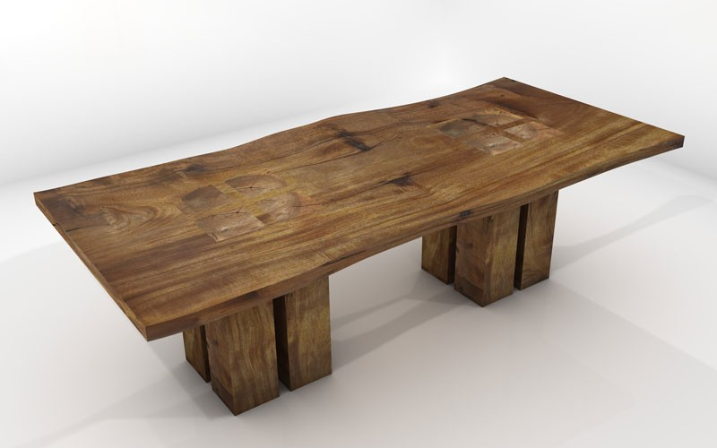 wood table designs plans photo - 6