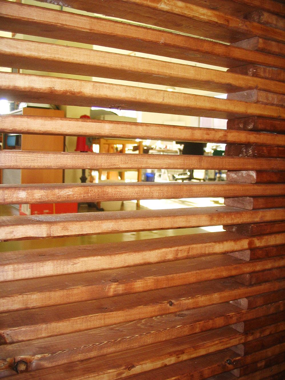 wood wall design ideas photo - 1