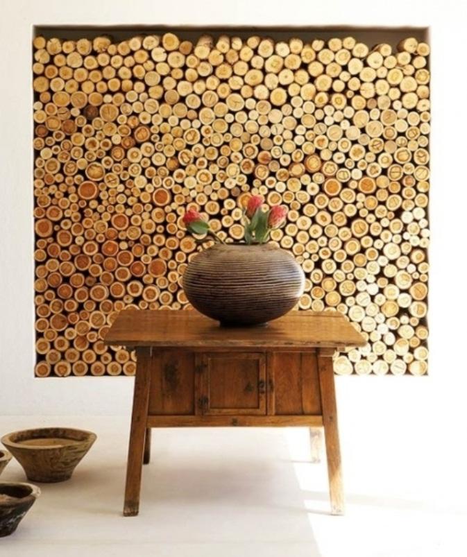 wood wall design ideas photo - 2