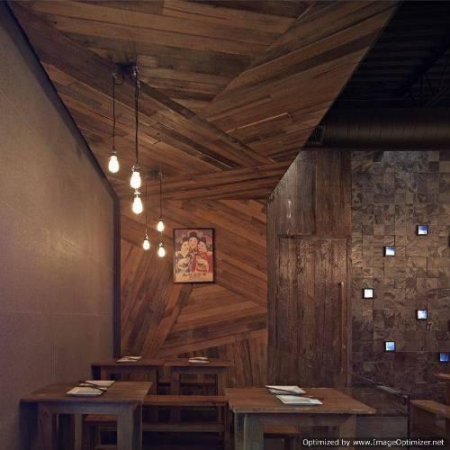 wood wall design ideas photo - 4