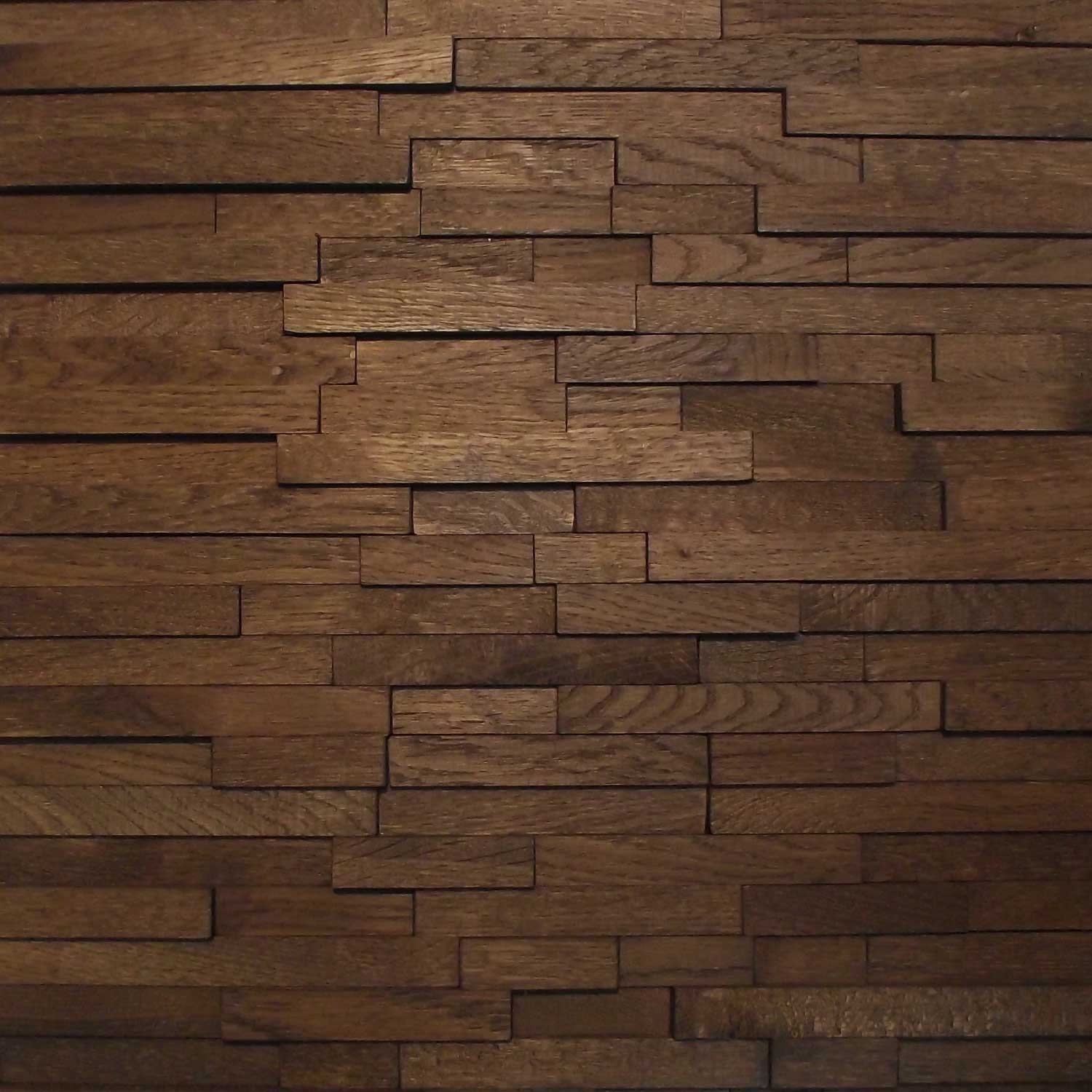 wood wall panel design photo - 5