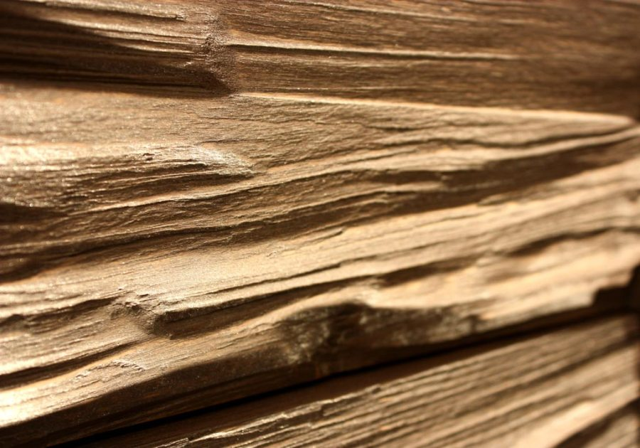 wood wall panel design photo - 6